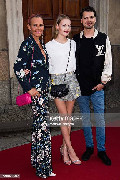Natascha Ochsenknecht Cheyenne Ochsenknecht and Jimi Blue Ochsenknecht attends the MICHALSKY StyleNite 2016 on July 1 2016 in Berlin Germany