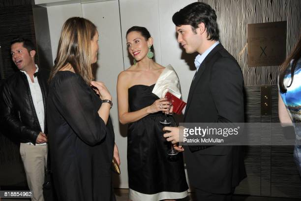 Natascha Theis Dalia Oberlander and Nick Brown attend SAKS FIFTH AVENUE and THE WHITNEY MUSEUM OF AMERICAN ART celebrate Emerging Designers at Saks...