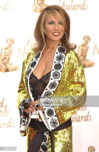 Natasha Amal during 45th Monte Carlo Television Festival Closing Award Ceremony at Grimaldi Forum in Monte Carlo Monaco