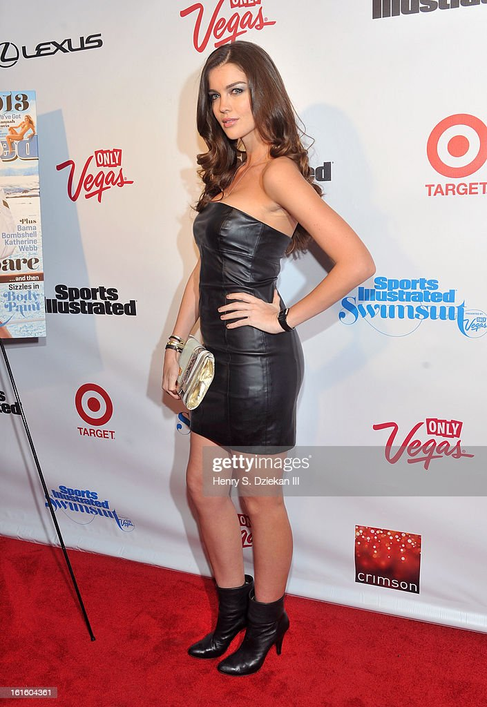 Natasha Barnard attends the 2013 Sports Illustrated Swimsuit Launch Party at Crimson on February 12, 2013 in New York City.