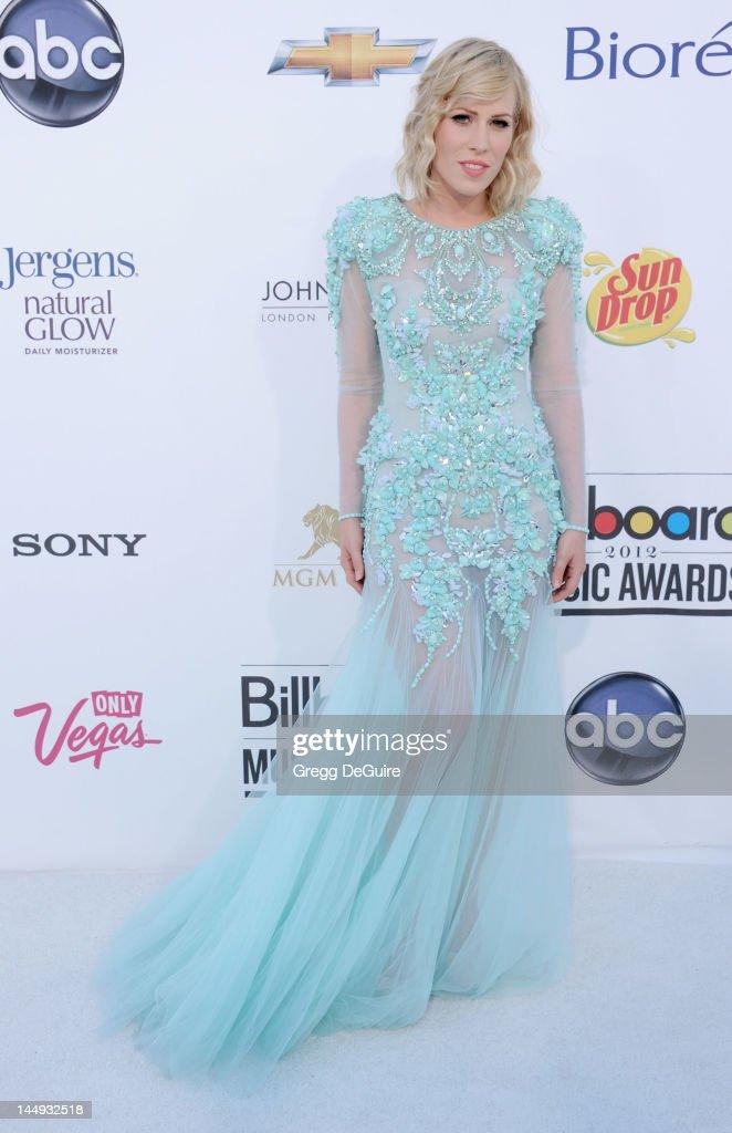 Natasha Bedingfield arrives at the 2012 Billboard Music Awards at MGM Grand on May 20, 2012 in Las Vegas, Nevada.