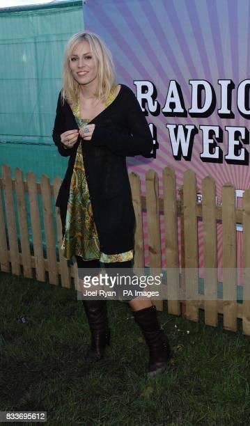 Natasha Bedingfield at BBC Radio 1's Big Weekend in Preston
