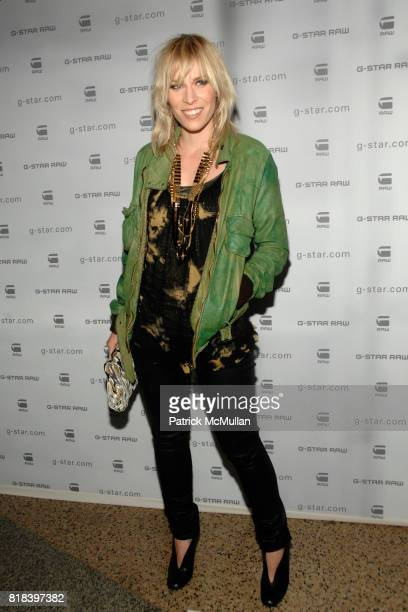Natasha Bedingfield attends GSTAR RAW Presents NY RAW Fall/Winter 2010 Collection Arrivals at Hammerstein Ballroom on February 16 2010 in New York...