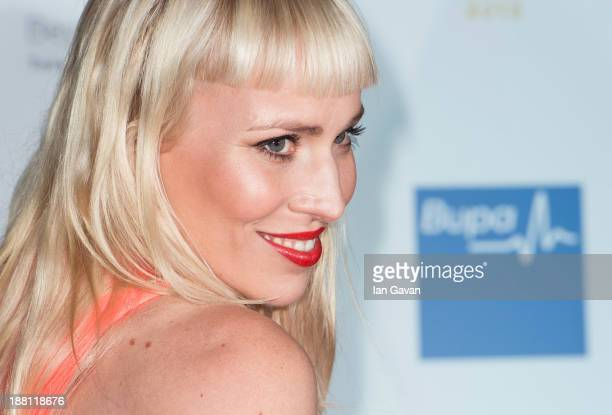 Natasha Bedingfield attends The Global Angel Awards at The Roundhouse on November 15 2013 in London England