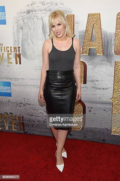 Natasha Bedingfield attends 'The Magnificent Seven' premiere at Museum of Modern Art on September 19 2016 in New York City