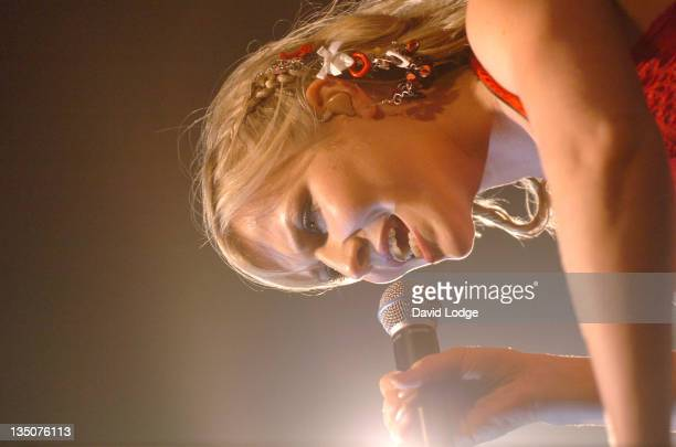 Natasha Bedingfield during Natasha Bedingfield In Concert June 23 2004 at Wembley Arena in London Great Britain