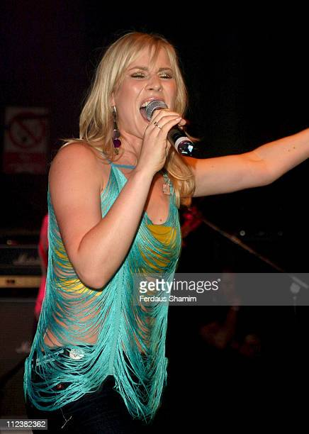 Natasha Bedingfield during Natasha Bedingfield Performs At GAY May 1 2004 at The Astoria in London Great Britain