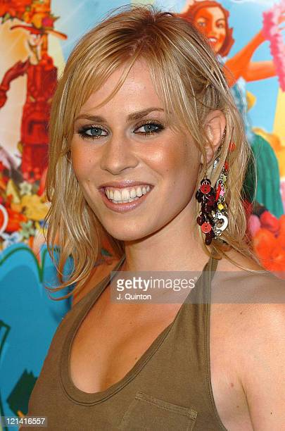 Natasha Bedingfield during T4 Pop Beach 2004 Backstage at Great Yarmouth Beach in London Great Britain