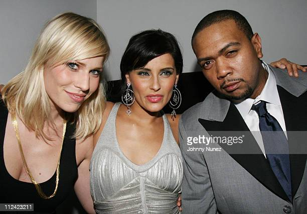Natasha Bedingfield Nelly Furtado and Timbaland during Entertainment Weekly Mosely Music Group and Hennessy Present 'A Toast To Timbaland' at...