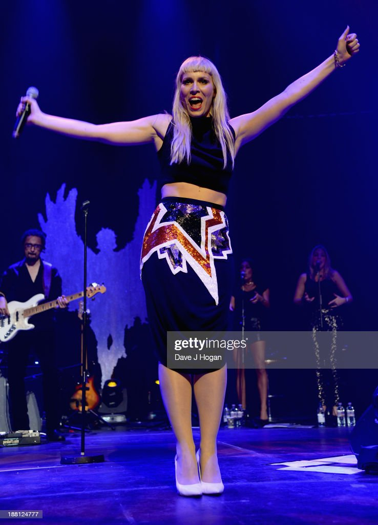 <a gi-track='captionPersonalityLinkClicked' href=/galleries/search?phrase=Natasha+Bedingfield&family=editorial&specificpeople=171728 ng-click='$event.stopPropagation()'>Natasha Bedingfield</a> performs onstage at The Global Angel Awards at the Roundhouse on November 15, 2013 in London, England.