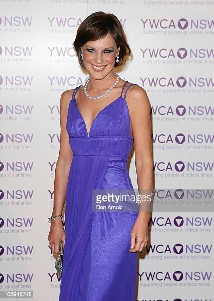 Natasha Belling arrives at the 'Mother of all Balls' the YMCA New South Wales' annual fundraiser at Royal Randwick Racecourse on October 22 2010 in...