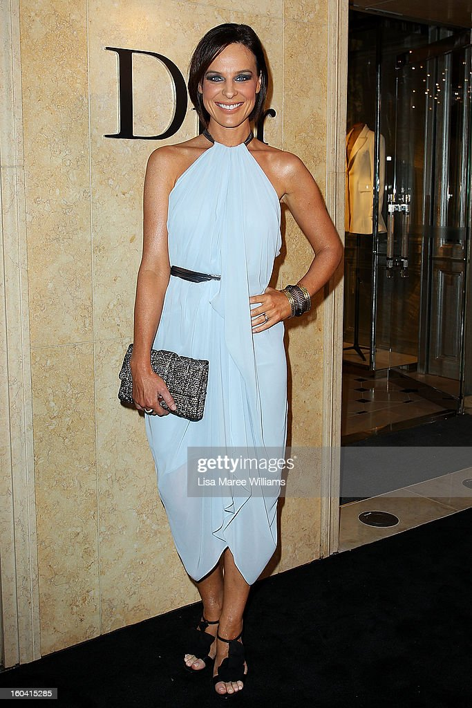 Natasha Belling attends the opening of the Christan Dior Sydney store on January 31, 2013 in Sydney, Australia.