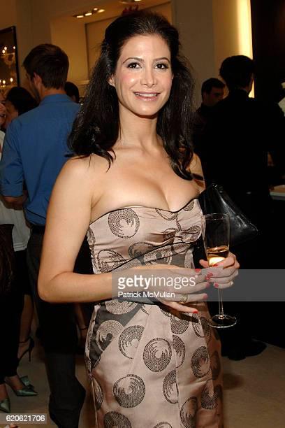 Natasha Boncompagni attends VOGUE and ELIE TAHARI host cocktails to celebrate TATIANA BONCOMPAGNI's new book GILDING LILY at Elie Tahari on September...