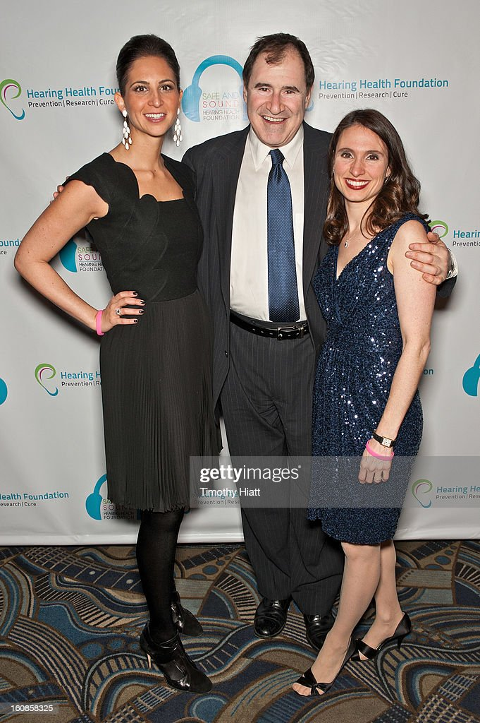 Natasha Boucai, Richard Kind, and Andrea Boidman attend the Hearing Health Foundation's An Intimate Evening with Cyndi Lauper at B.B. King Blues Club & Grill on February 6, 2013 in New York City.