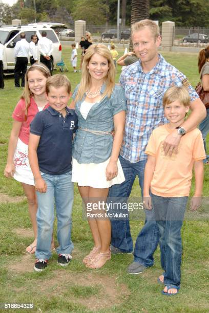 Natasha Bure Lev Bure Candace Cameron Bure Valeri Bure and Maksim Bure attend 21st ANNUAL A TIME FOR HEROES CELEBRITY PICNIC SPONSORED BY DISNEY TO...