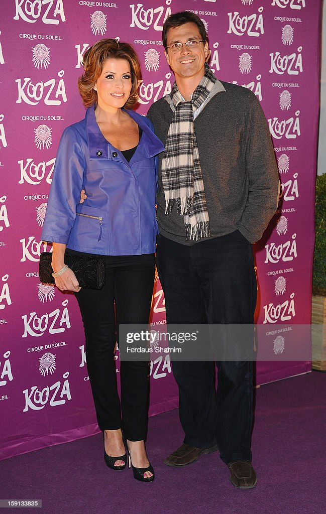 Natasha Caplinsky attends the opening night of Cirque Du Soleil's Kooza at Royal Albert Hall on January 8, 2013 in London, England.