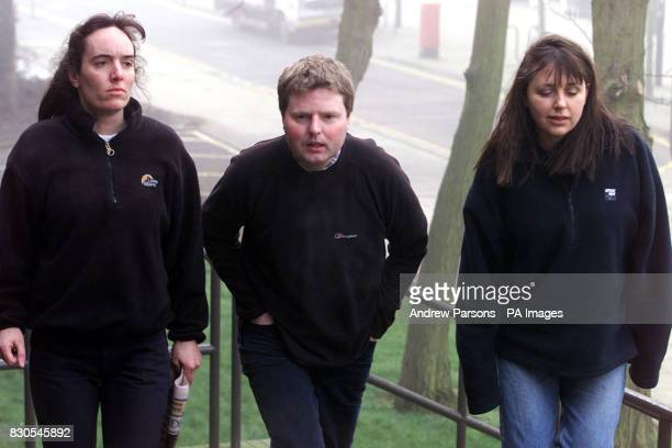 Natasha Dallemange Gregg Avery and Heather Avery three of the Huntingdon Life Sciences protesters accused of inciting others to cause a nuisance at...