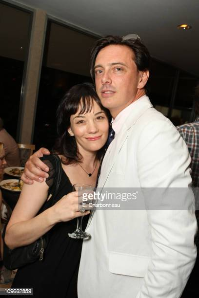 Natasha Gregson Wagner and Donovan Leitch at Donovan Leitch's 40th Birthday Party hosted by Hpnotiq held at The Muholland Tennis Club on August 16...