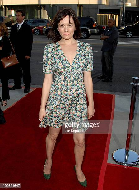 Natasha Gregson Wagner during 'Sicko' Los Angeles Premiere Arrivals at Academy Of Motion Picture Arts Sciences in Beverly Hills California United...