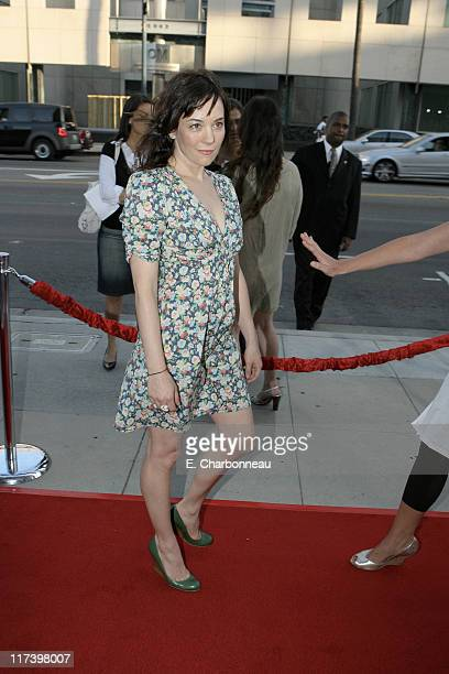 Natasha Gregson Wagner during The Weinstein Company and Lionsgate Films Present the Los Angeles Screening of 'Sicko' at The Academy of Motion...
