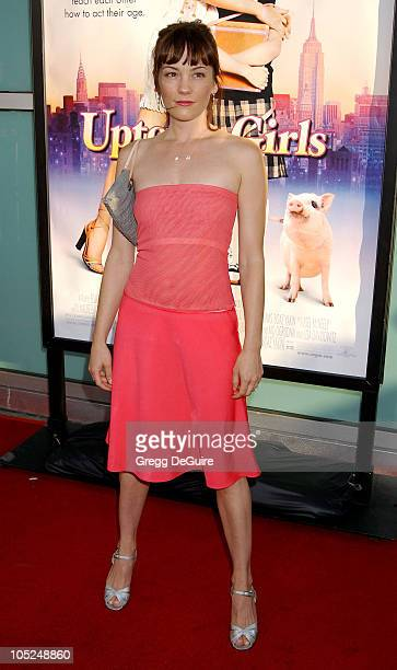 Natasha Gregson Wagner during 'Uptown Girls' Premiere at Archlight Theatre in Hollywood California United States