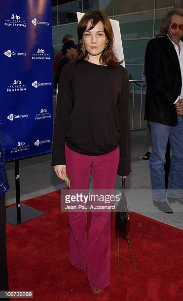 Natasha Gregson Wagner during World Premiere of 'Mayor Of The Sunset Strip' at the 2003 IFP Los Angeles Film Festival Arrivals at Arclight Cinerama...