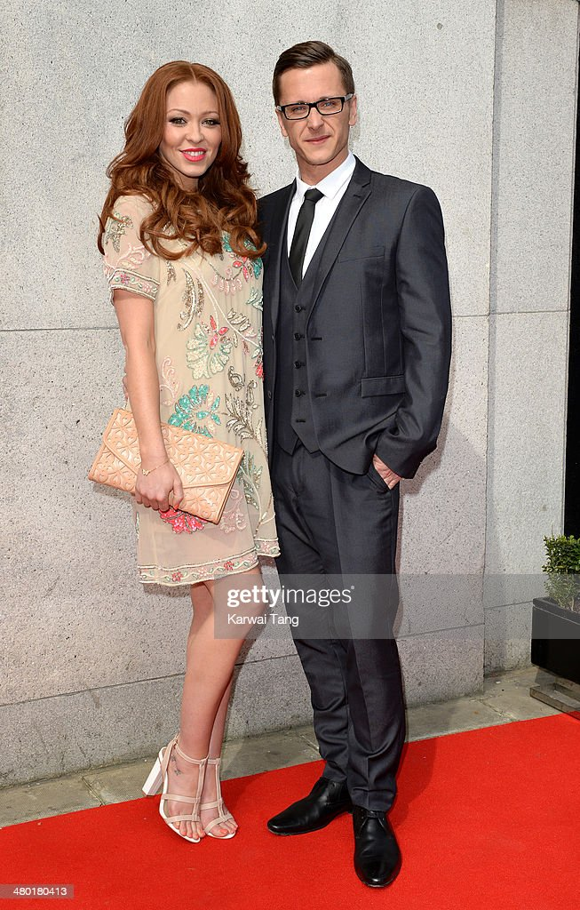 Natasha Hamilton and Ritchie Neville attend the Tesco Mum of the Year awards at The Savoy Hotel on March 23, 2014 in London, England.