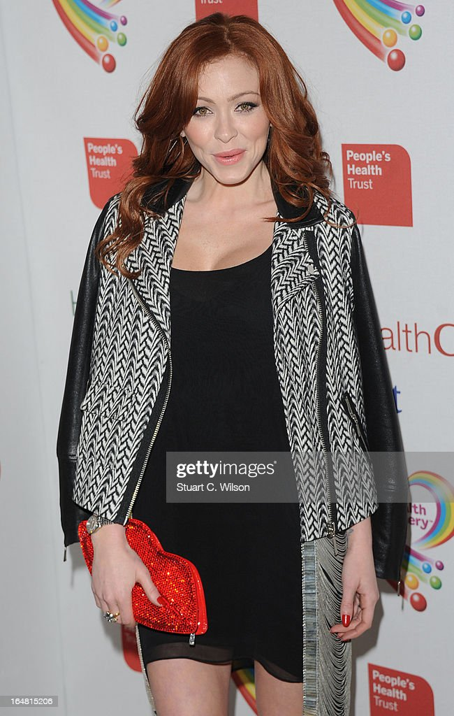 Natasha Hamilton attends a fundraising event in aid of The Health Lottery hosted by Simon Cowell at Claridges Hotel on March 28, 2013 in London, England.