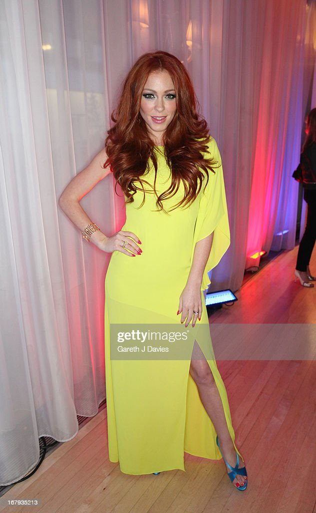 Natasha Hamilton attends The FHM 100 Sexiest Women In The World 2013 Launch Party at the Sanderson Hotel on May 1, 2013 in London, England.