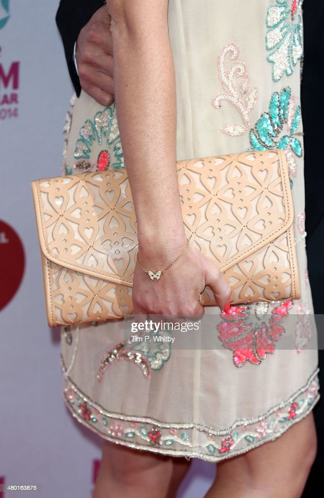 Natasha Hamilton (detail) attends the Tesco Mum of the Year awards at The Savoy Hotel on March 23, 2014 in London, England.