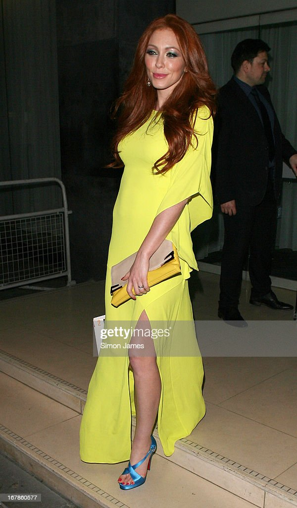 Natasha Hamilton sighting on May 1, 2013 in London, England.