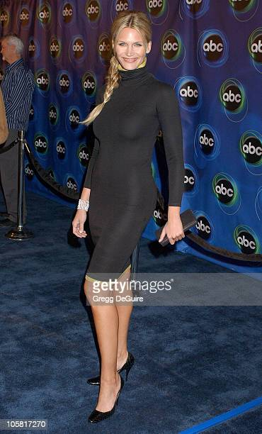 Natasha Henstridge during 2006 ABC Network AllStar Party Arrivals and Inside at The Wind Tunnel in Pasadena California United States