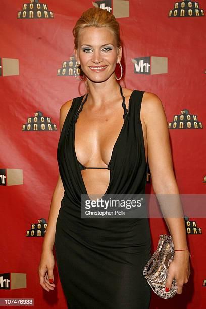Natasha Henstridge during 2006 VH1 Rock Honors Red Carpet at Mandalay Bay Hotel and Casino in Las Vegas United States United States