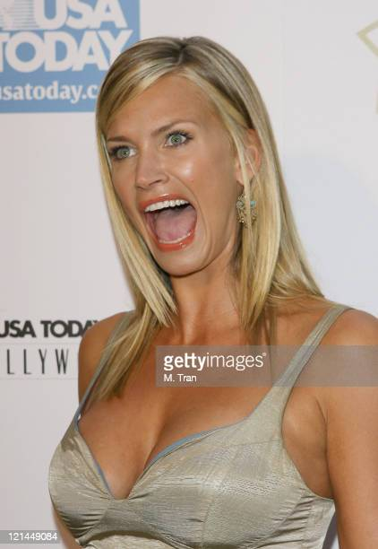 Natasha Henstridge during 2nd Annual USA Today Hollywood Hero Award Arrivals at Beverly Hills Hotel in Beverly Hills California United States