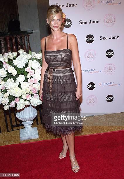 Natasha Henstridge during 'CommanderinChief' Inaugural Ball and Premiere Screening at Regent Beverly Wilshire in Beverly Hills California United...