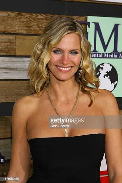 Natasha Henstridge during E and EMA's 2007 Golden Globe After Party Red Carpet and Inside at Beverly Hilton in Beverly Hills California United States