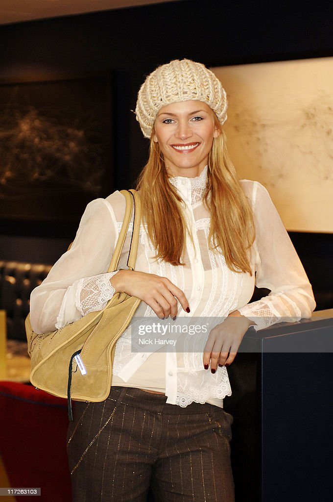 Natasha Henstridge during Loewe Lunch at The Hospital at The Hospital in London, Great Britain.