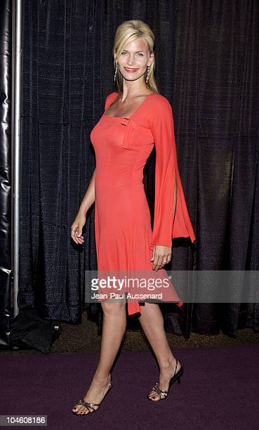 Natasha Henstridge during 'Power and Beauty' Premiere Screening at The Directors Guild in Los Angeles California United States