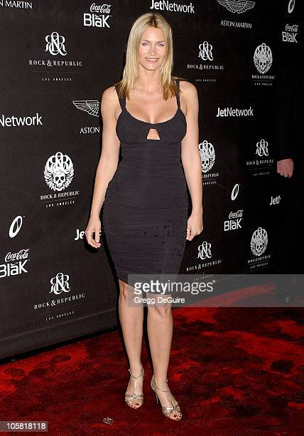 Natasha Henstridge during Rock Republic's Fall 2006 Exhibition of Fashion Begins the New Era Arrivals at Sony Studios in Culver City California...