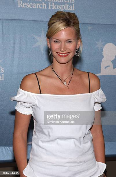 Natasha Henstridge during St Jude Children's Research Hospital 'Shower of Stars' 40th Anniversary Arrivals and Dinner Reception at Cannon Center in...