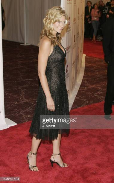 Natasha Henstridge during St Jude 'Runway for Life' at Beverly Hilton in Beverly Hills California United States
