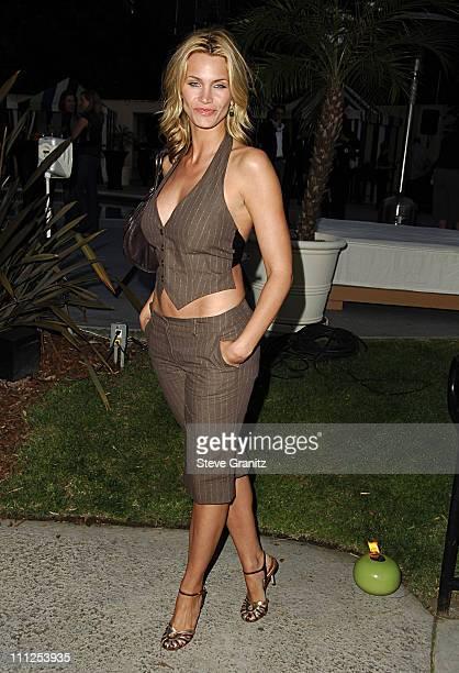 Natasha Henstridge during Travel Leisure Magazine Celebrates 35th Birthday Arrivals at W Hotel Los Angeles in Westwood California United States