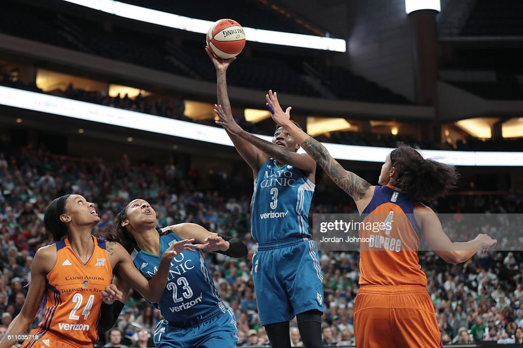 Phoenix Mercury v Minnesota Lynx - Game One