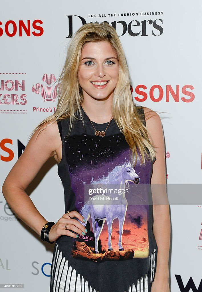 Natasha James attends the VIP charity event, which Drapers and WGSN Group, partnered with Parsons The New School for Design and the British Fashion Council to hold, in aid of the Prince's Trust Million Makers on August 4, 2014 in London, England. The event saw the launch the acclaimed book 'The School of Fashion: 30 Parsons Designers' by Simon Collins, Dean of Fashion at Parsons. The richly-illustrated volume explores the legacy of Parsons through the testimony of its brightest alumni, with interviews and sketches from Donna Karan, Alexander Wang, Jack McCullough and Lazaro Hernandez of Proenza Schouler, and many others.
