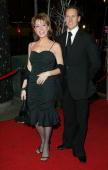 Natasha Kaplinsky and Brendan Cole at the BBC Television Centre in London United Kingdom