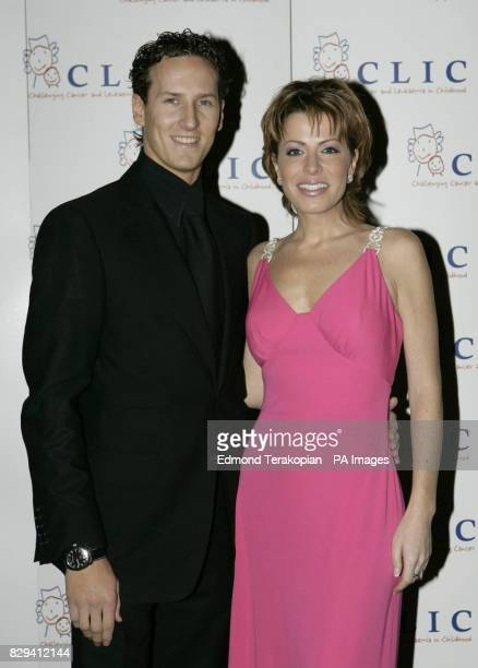 Natasha Kaplinsky and Brendan Cole at the CLIC Night of the Stars Ball Garden Rooms Royal Hospital Gardens Chelsea