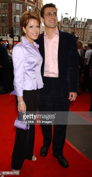 Natasha Kaplinsky and Justin Bowyer