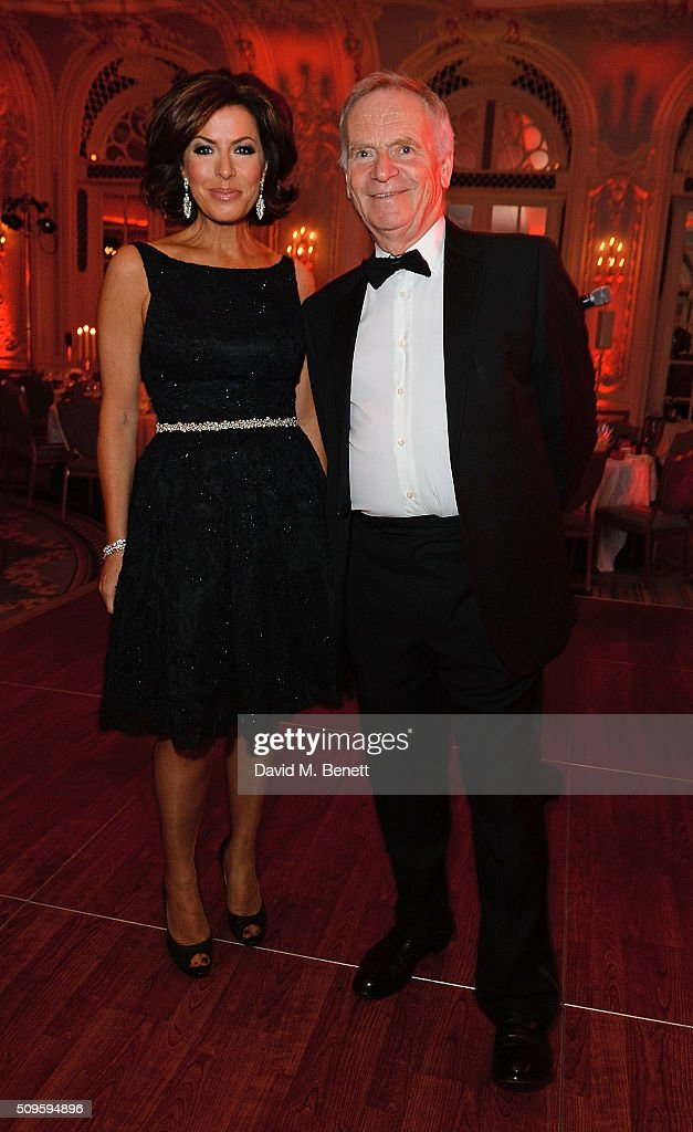 <a gi-track='captionPersonalityLinkClicked' href=/galleries/search?phrase=Natasha+Kaplinsky&family=editorial&specificpeople=211374 ng-click='$event.stopPropagation()'>Natasha Kaplinsky</a> and Lord Jeffrey Archer attend a drinks reception during the British Heart Foundation: Roll Out The Red Ball at The Savoy Hotel on February 11, 2016 in London, England.