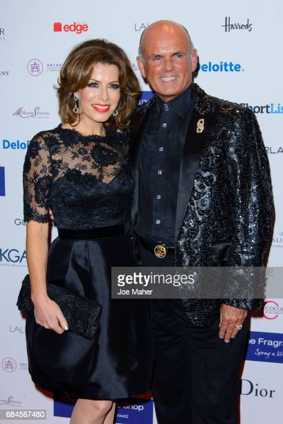 Natasha Kaplinsky and Roja Dove attends the Fragrance Foundation Awards at The Brewery on May 18 2017 in London England