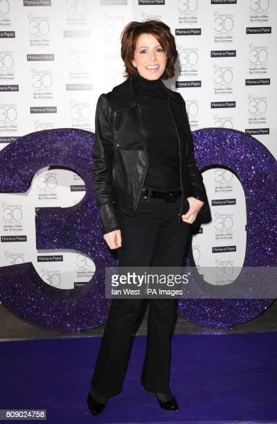 Natasha Kaplinsky arrives at the Mamas Papas 30th Birthday party in London